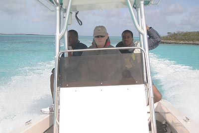 On Patrol with Bahamian Navy