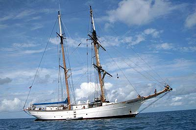 Sv Corwith Cramer: the educational vessel out of Woods Hole