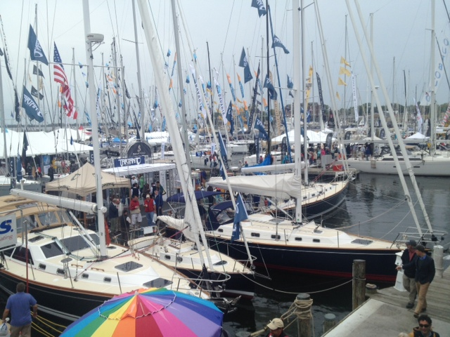 Busy boat show