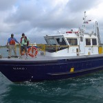Advisor arrives on Pilot boat