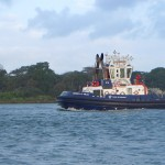 Large Tug on the Canal